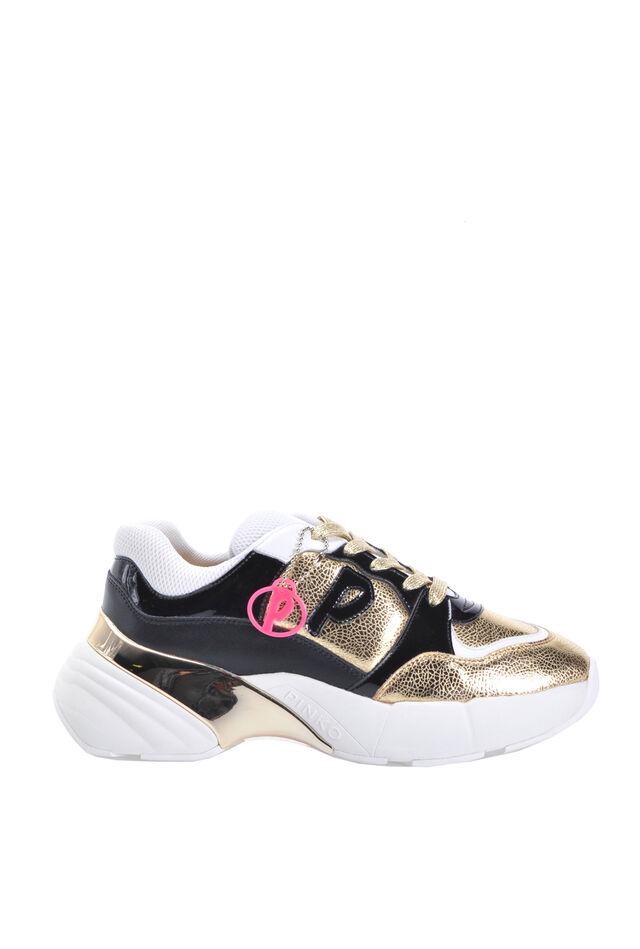 Sneakers Shoes To Rock craquelé e vernice