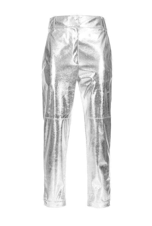 Laminated trousers
