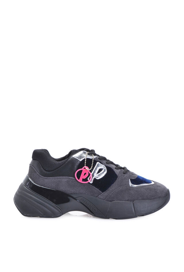 Sneakers Shoes To Rock pelle e velluto
