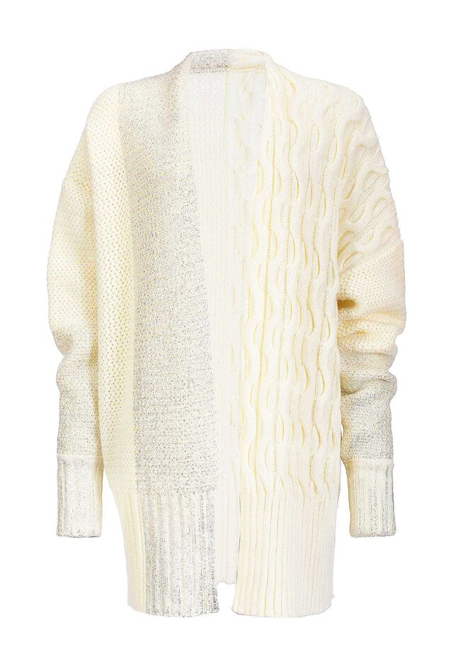 Cardigan with silver details