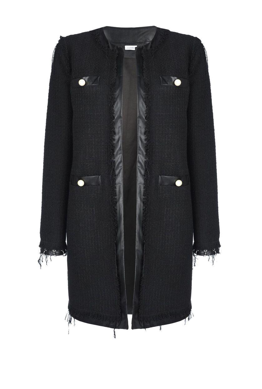 Bouclé coat