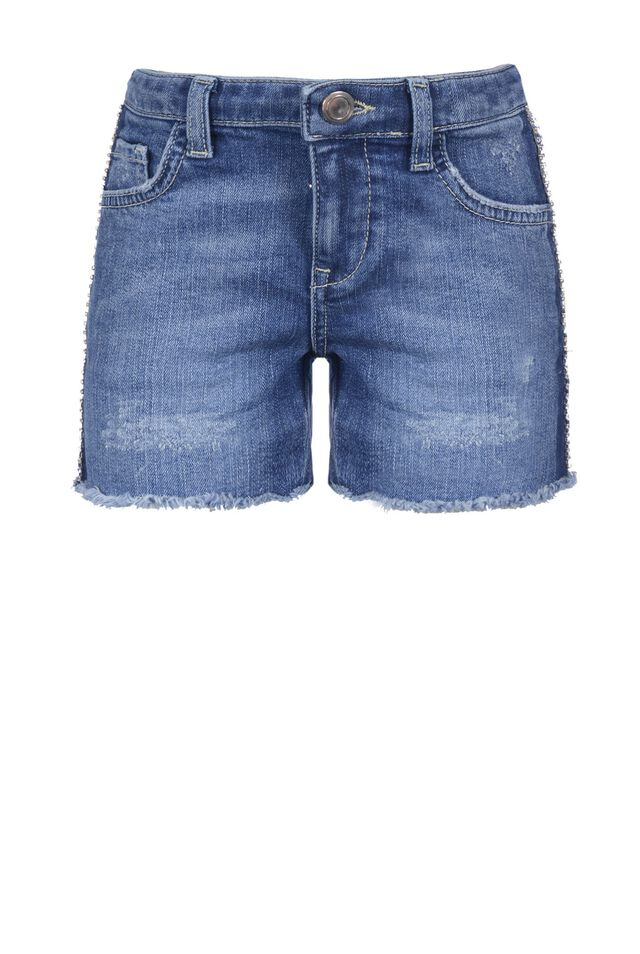 Short en denim confort