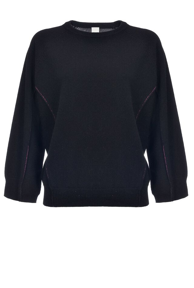Pullover oversize in puro cachemire
