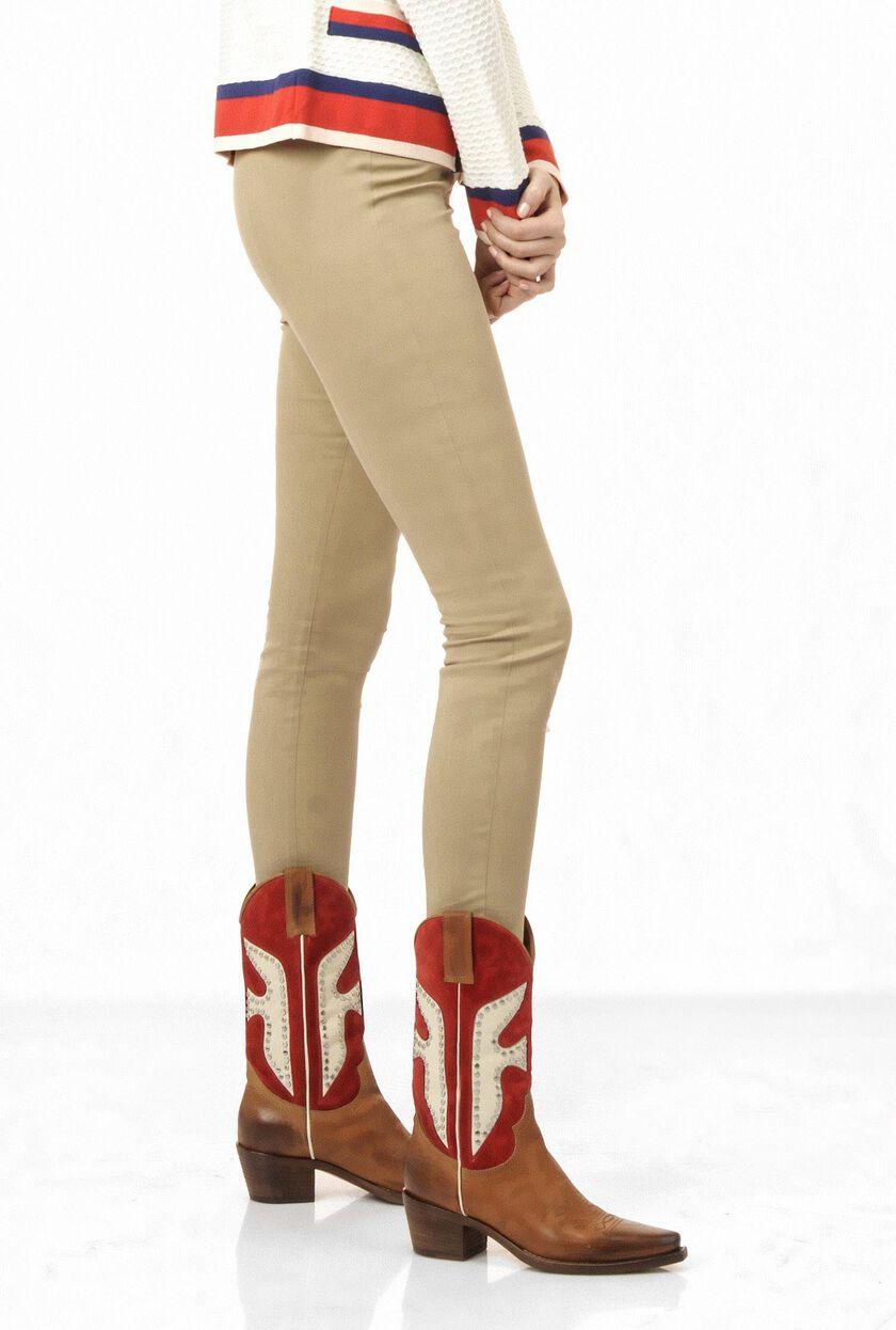 Luxury gabardine trousers