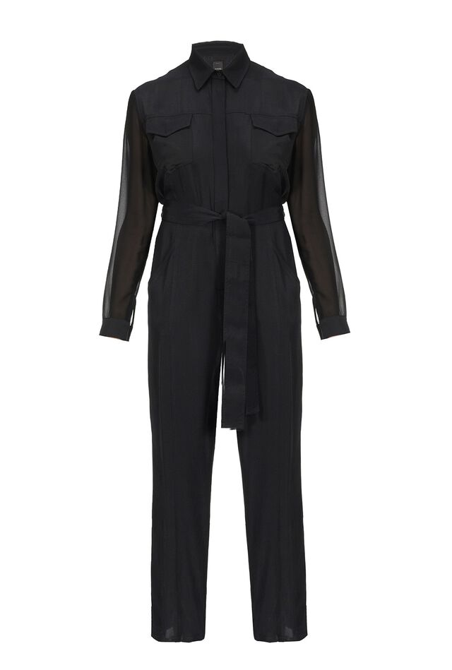 Moroccan twill jumpsuit