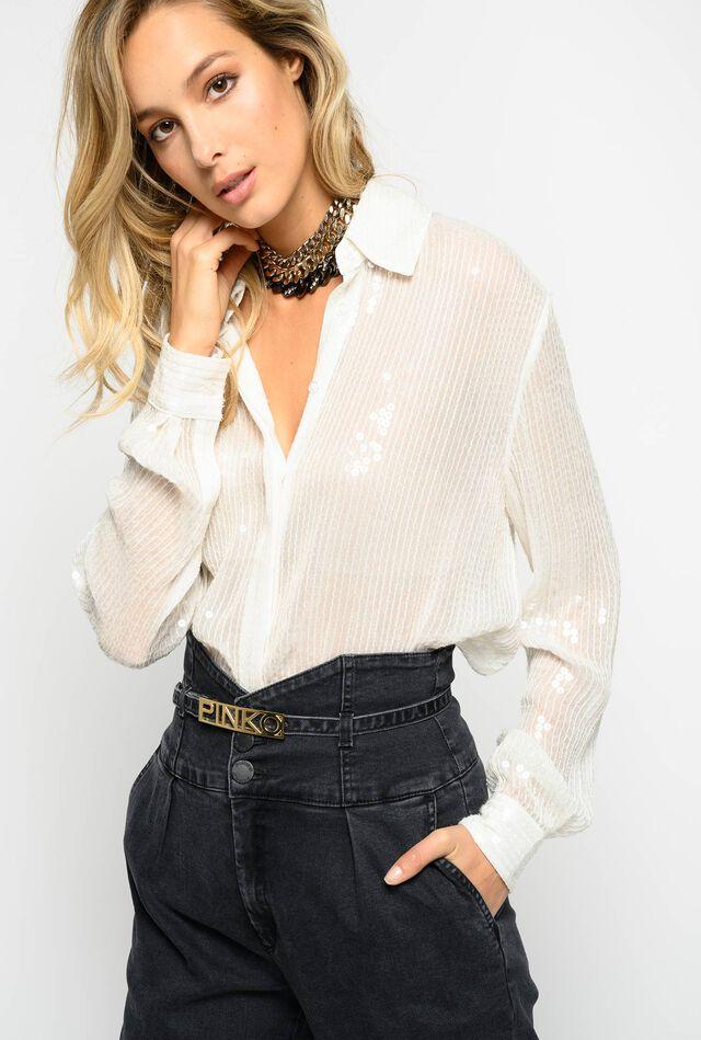 Shirt full of shiny sequins