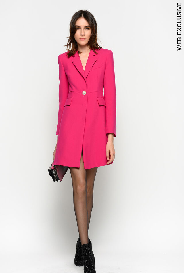 Jewel button coat