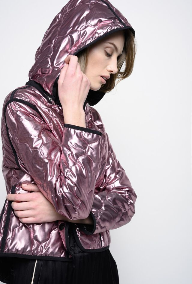 Metallic lurex jacket