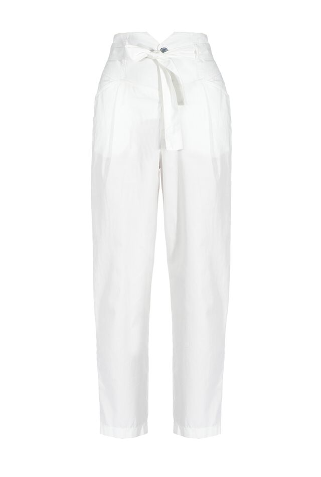 Pantaloni con vita alta a bustier