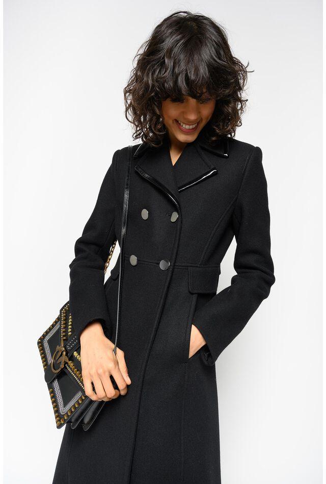 Long wool Melton coat