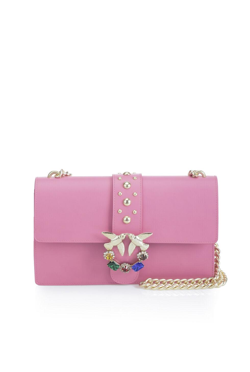 Love Bag with rhinestones