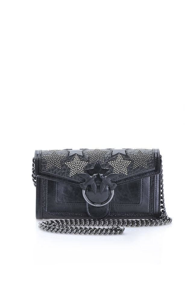 Starry Sky wallet with shoulder strap