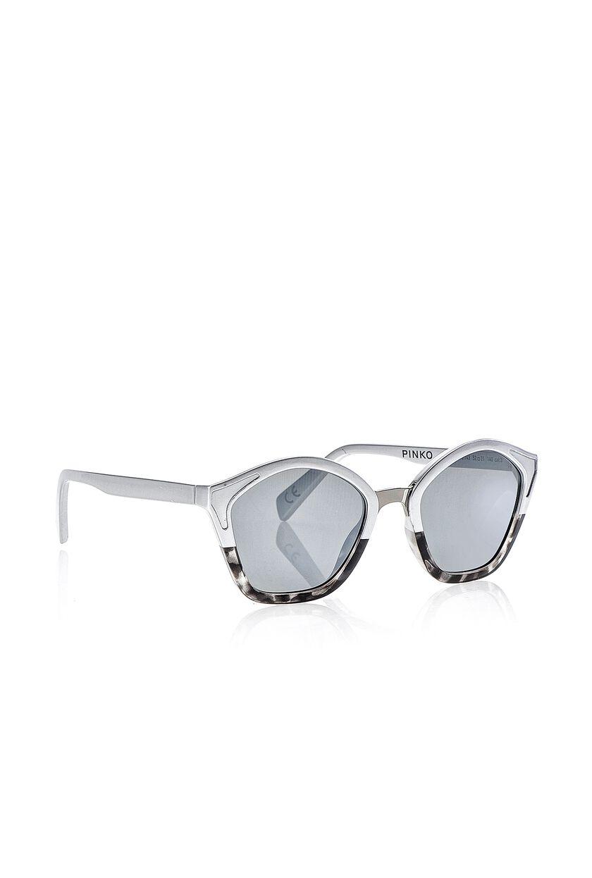 Occhiale da sole con dettagli metallici