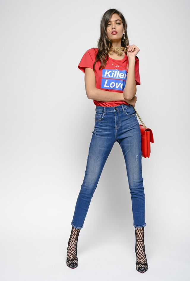 Jeans skinny-fit in denim power stretch