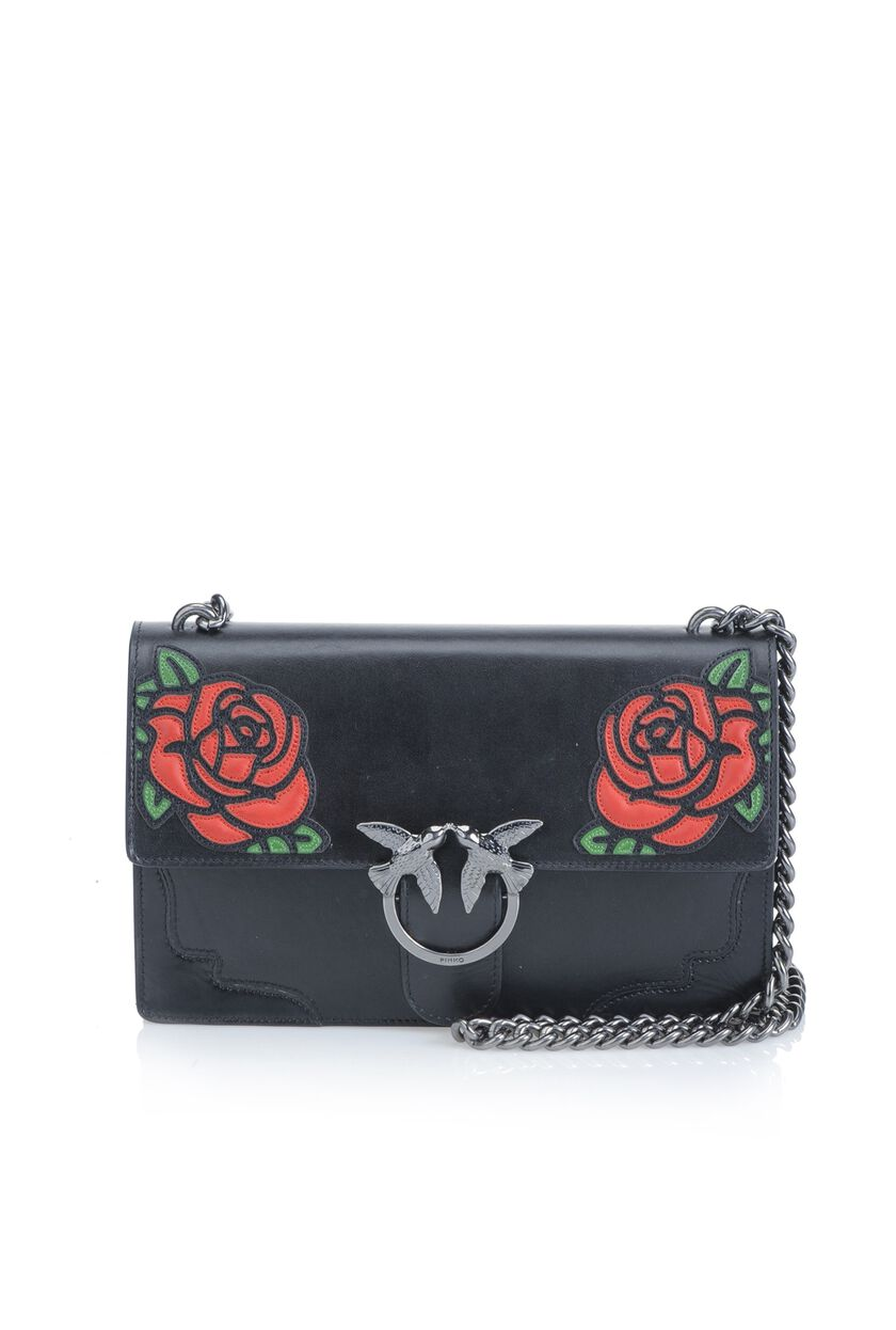 Love Bag in pelle di vitello opaco