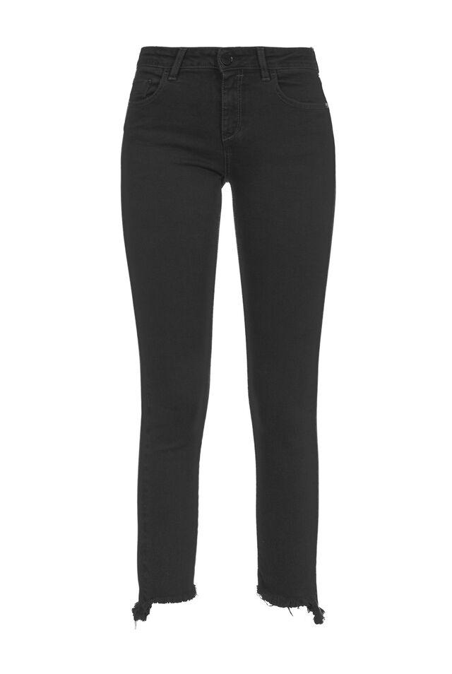 Jeans skinny in denim black reform