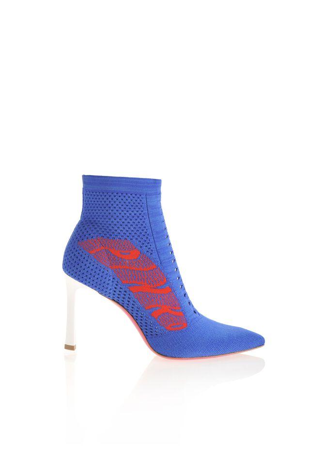 Tronchetti a calza con logo jacquard