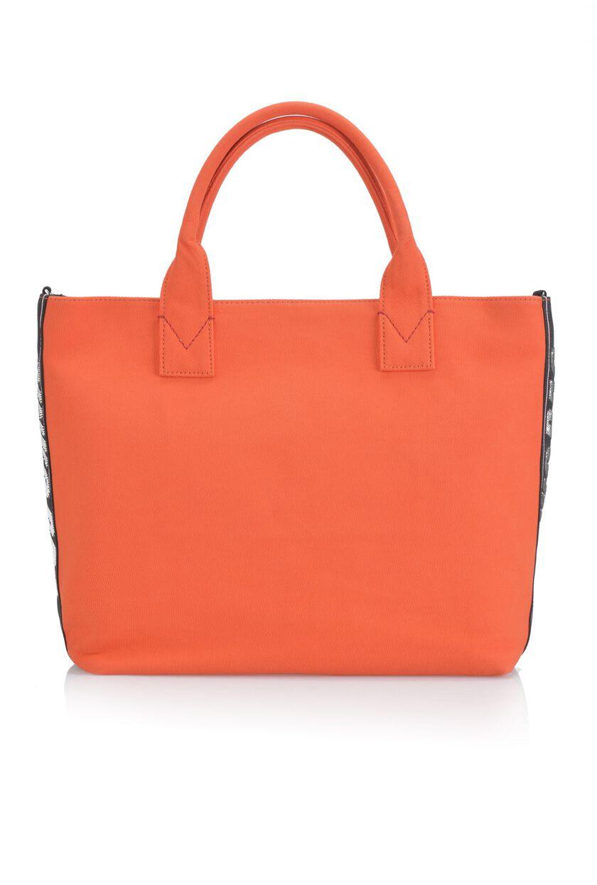 Pinko Bag in canvas di cotone con paillettes