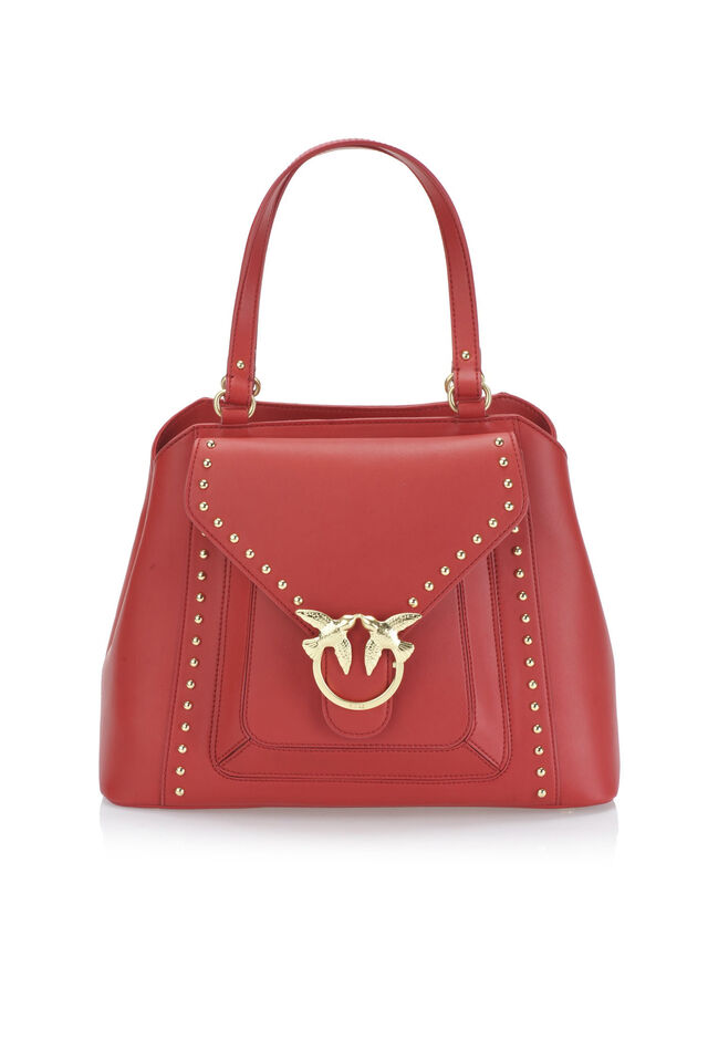 Borsa Top Handle Simply in pelle