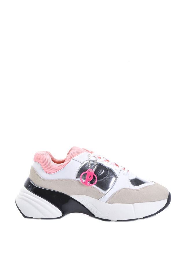 Sneakers Shoes To Rock in suede e pelle laminata