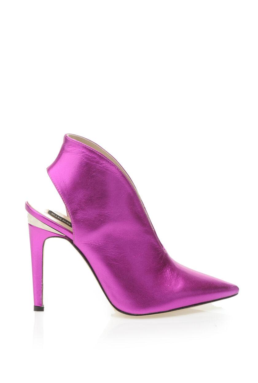 Sandali di nappa laminata