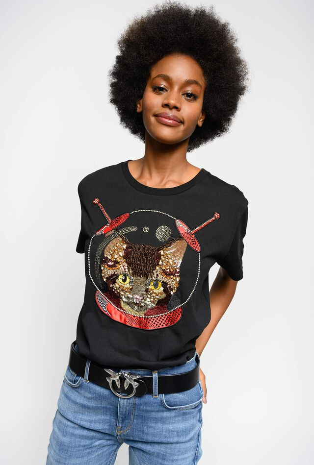 Camiseta Space Cat