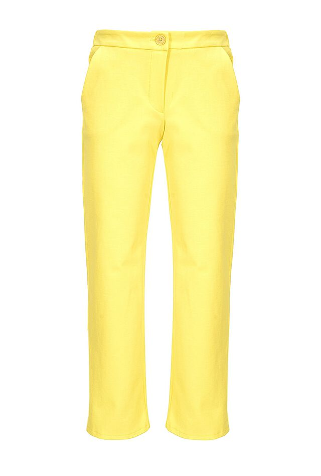 Chino style trousers in technical fabric