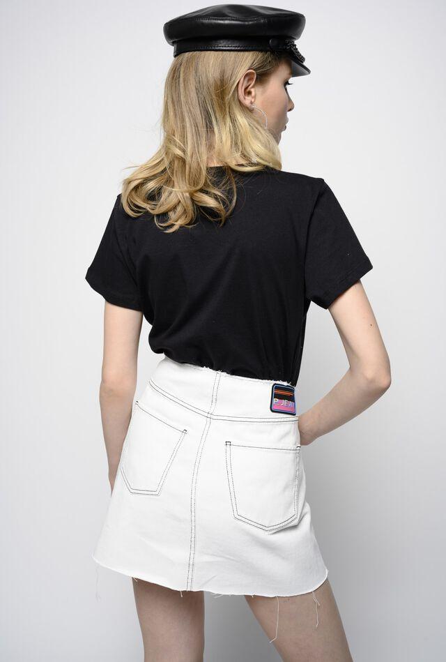 Cotton bull miniskirt