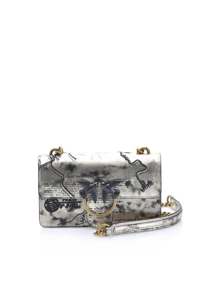 Mini Love Bag Romantic in pelle stampata