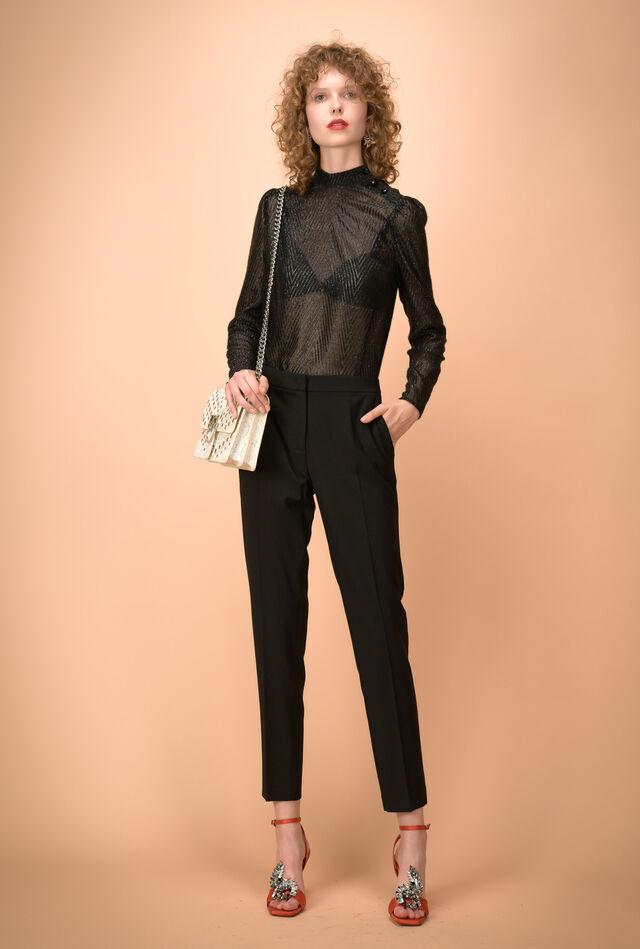 Pantalone in lana bistretch