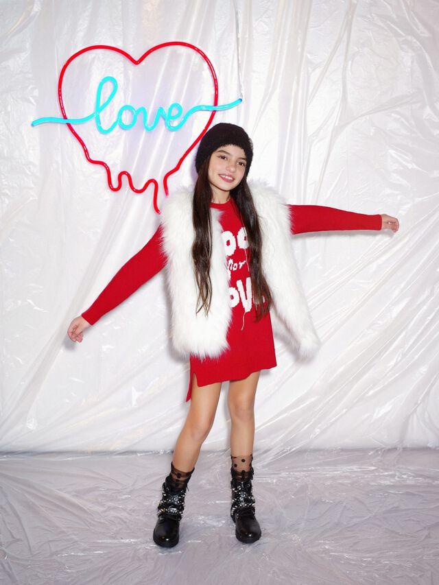 Fool For Love jacquard dress