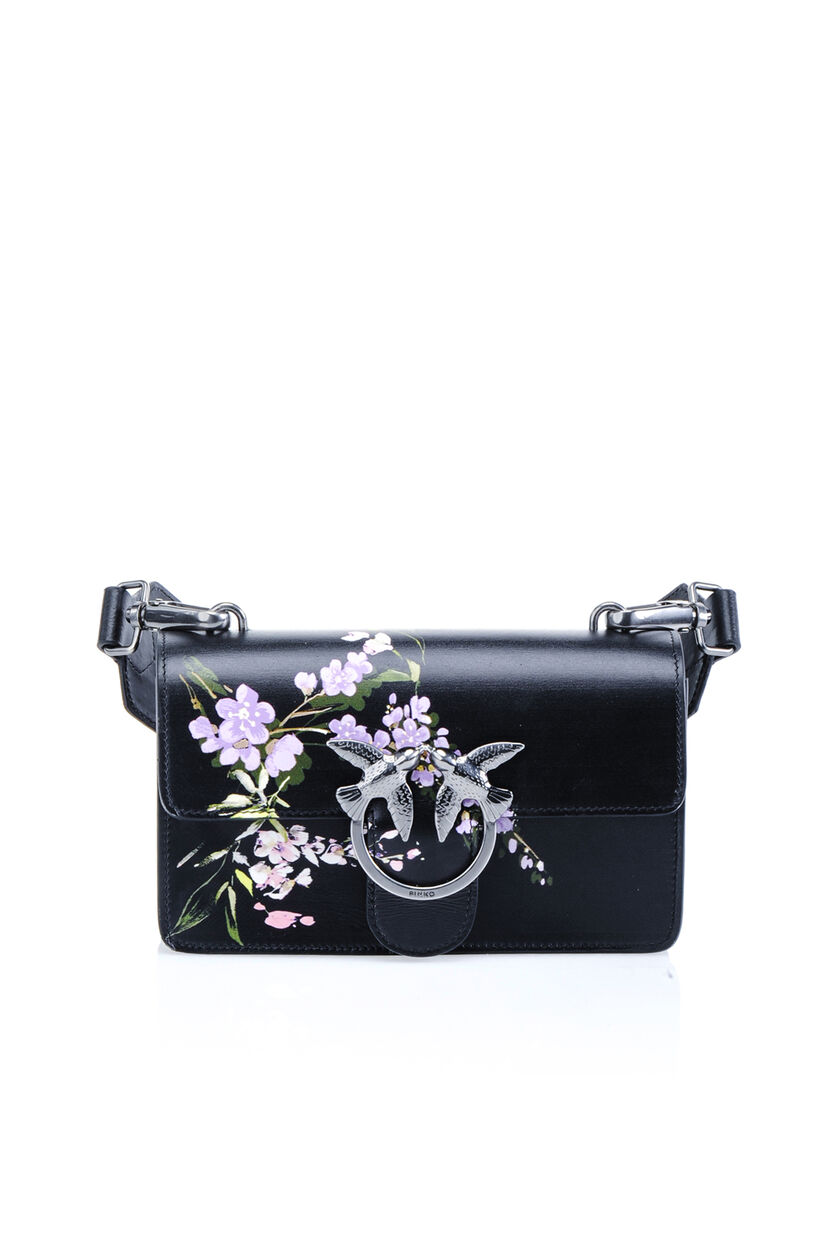 Printed nappa calfskin Love Bag