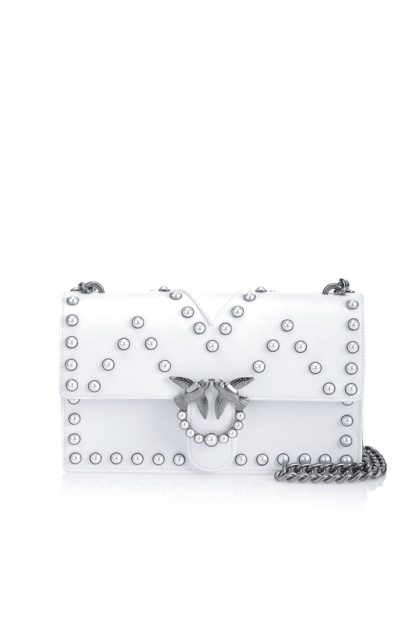 Love Bag with bijou pearls