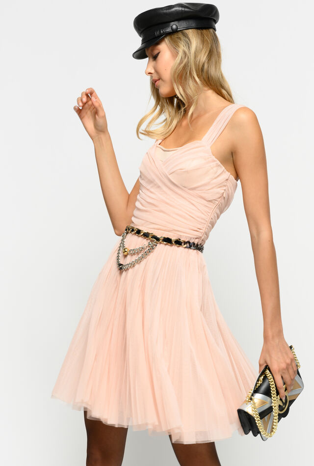 Short tulle dress