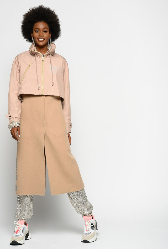 Two-piece coat