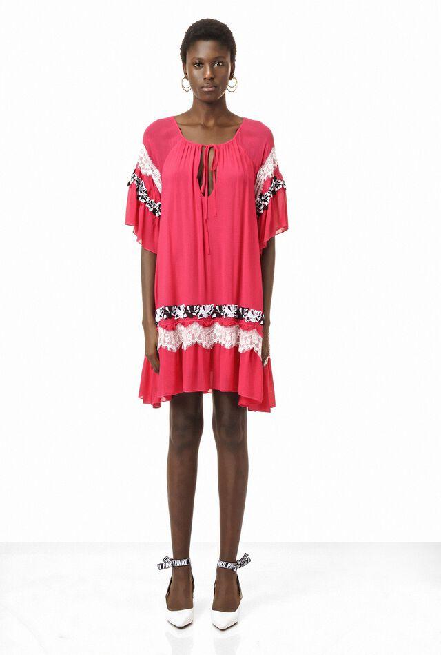 Vestido de muselina de algodón