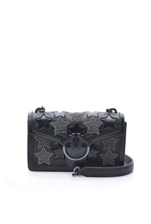 Mini Love Bag Starry Sky con borchie