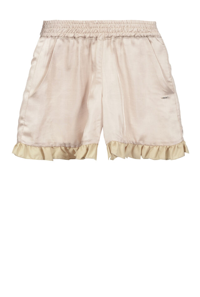 Shorts in supple viscose twill