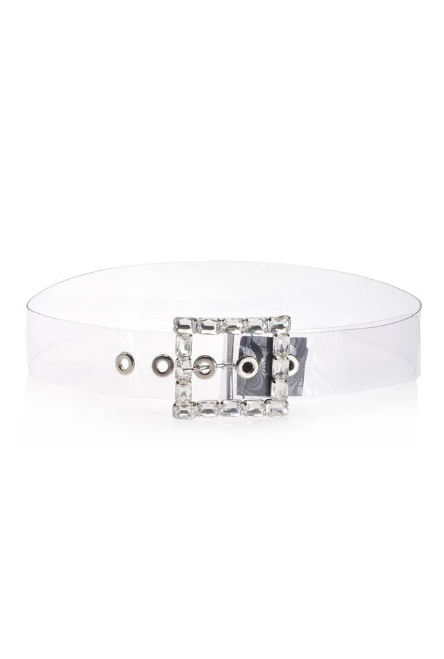 Transparent PVC belt