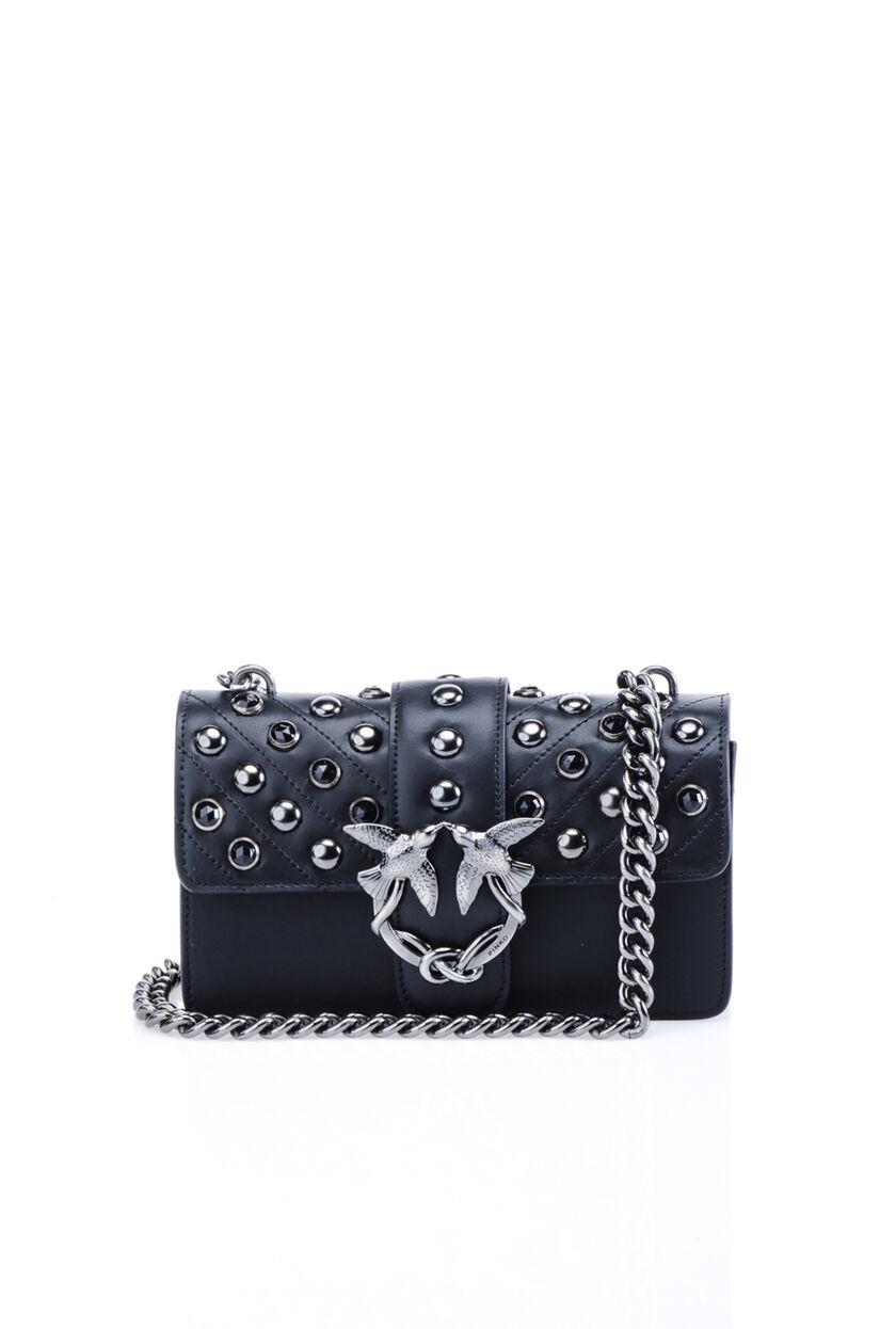 Studded mini Love Bag
