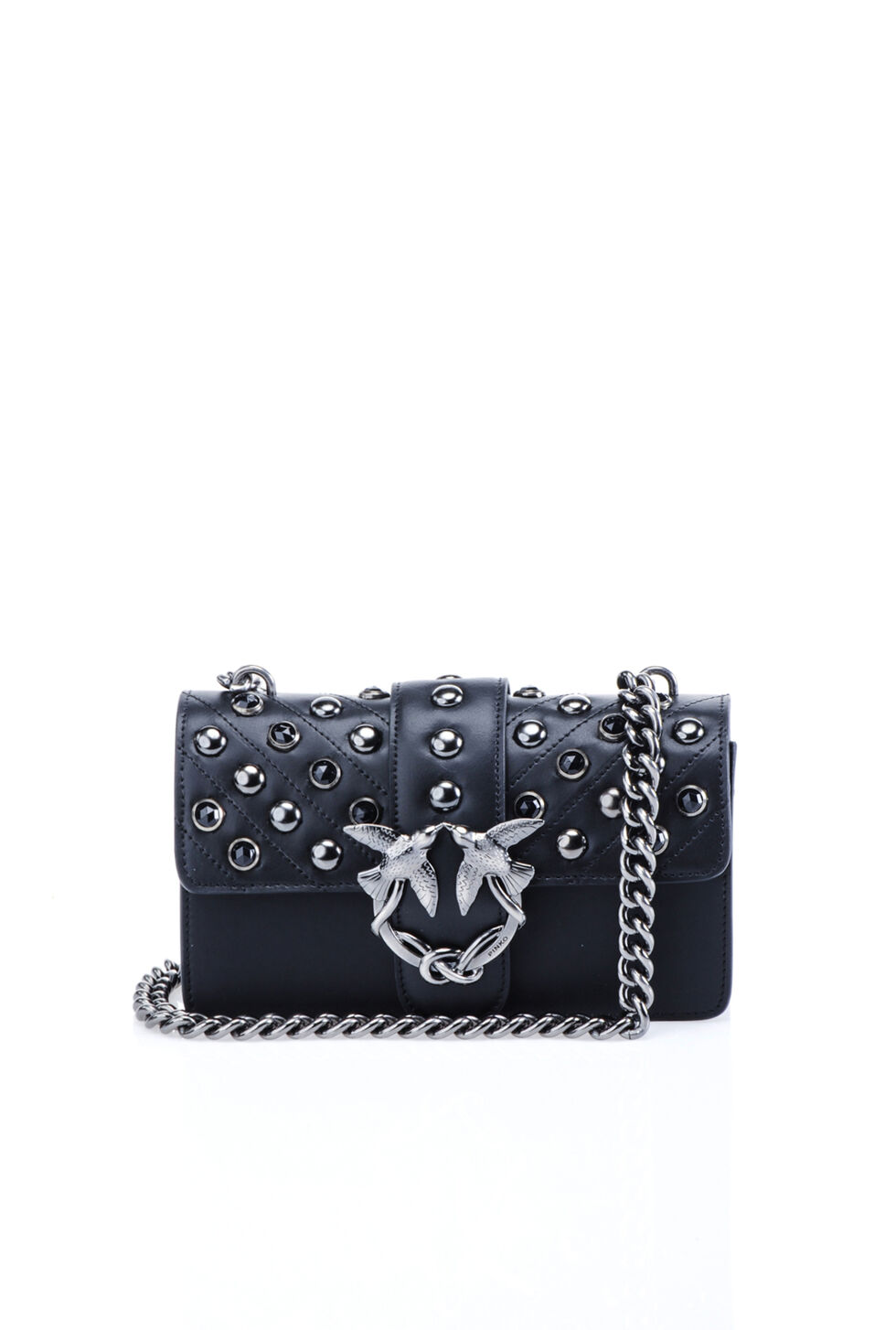Studded mini Love Bag