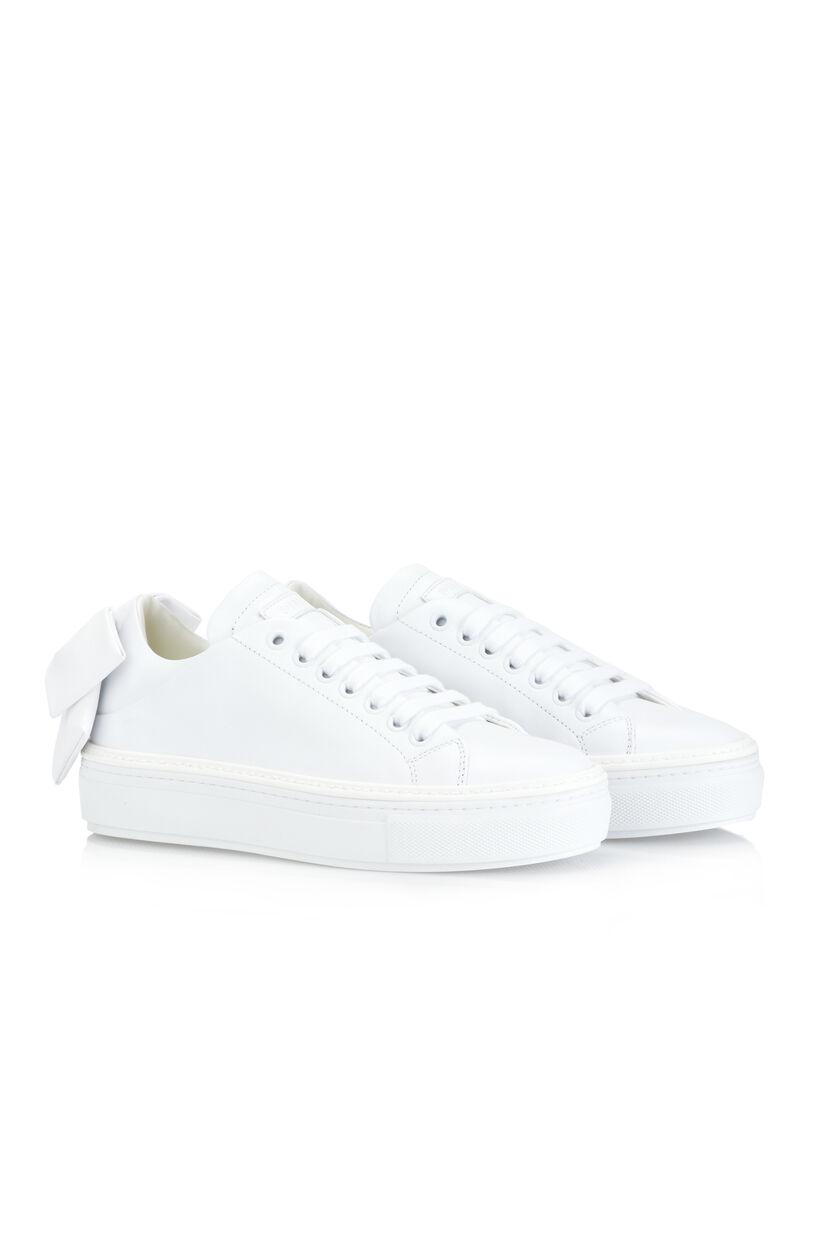 Sneakers con fiocco