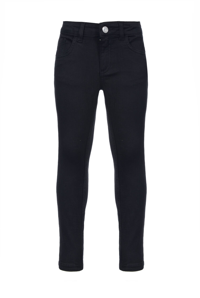 Jeggings in tessuto gabardina stretch