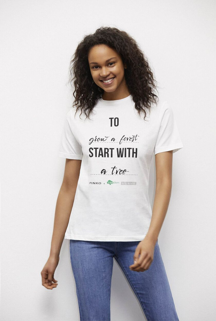 T-shirt Treedom in cotone