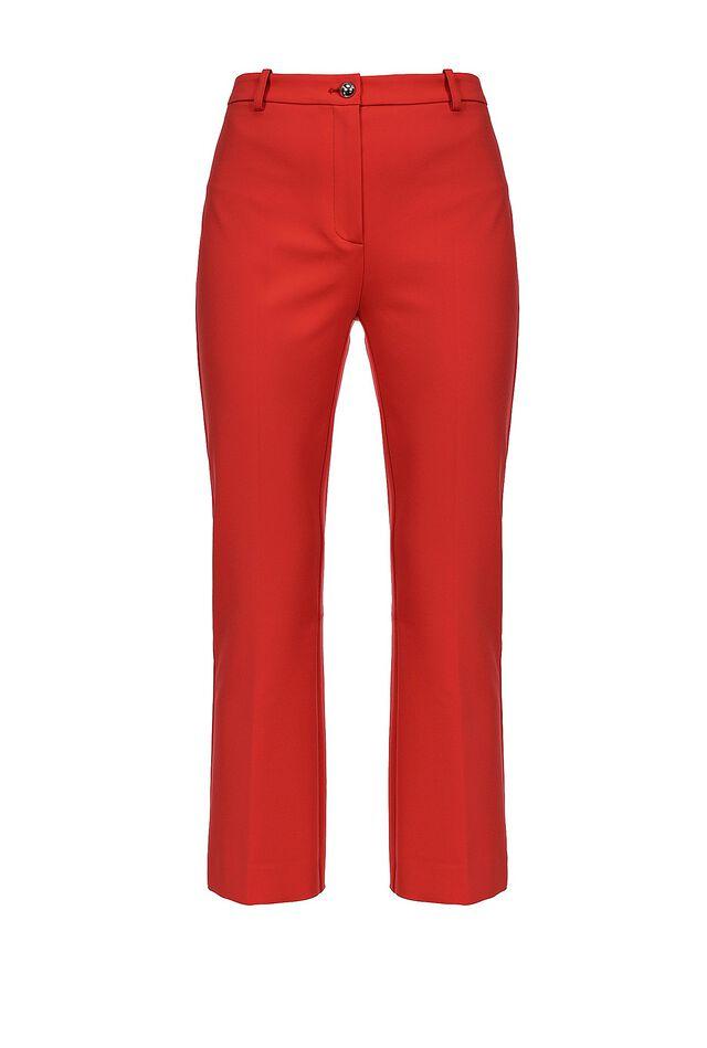 Pantaloni cropped flare
