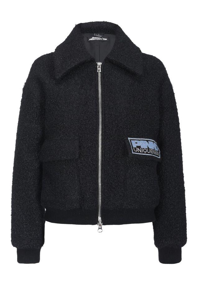 Teddy fur effect jacket