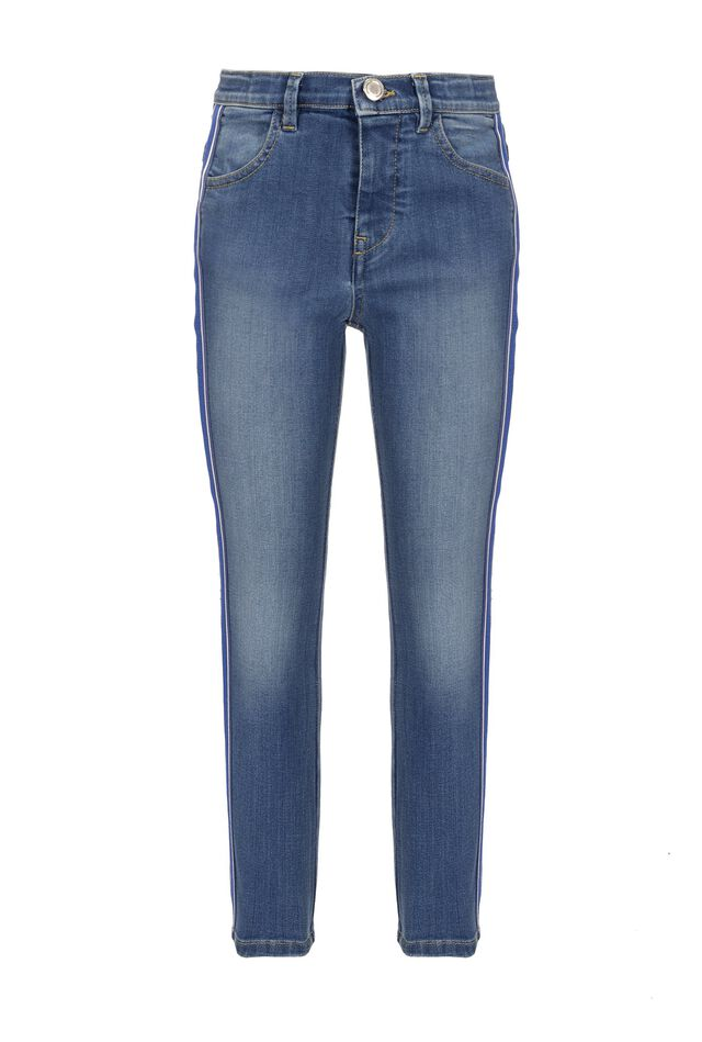 Jeggings in soft denim
