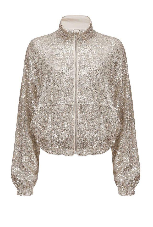 Full sequinned jacket