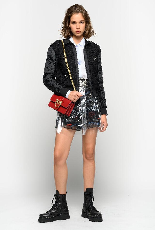 Double mini skirt