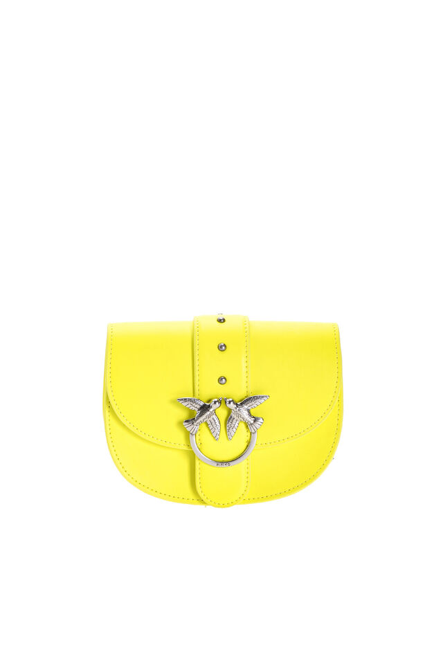 Simply Baby Round Love Bag in leather